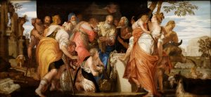 The Anointment of David, by Paolo Veronese, c. 1555. Kunsthistorisches Museum, Vienna, Austria.