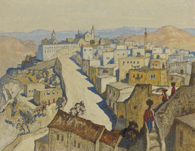 Bethlehem, by Konstantin Ivanovich Gorbatov, c. 1935. Private collection.