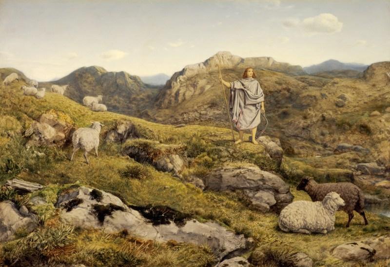 David in the Wilderness, by William Dyce, c. 1860. Scottish National Gallery, Edinburgh, United Kingdom.