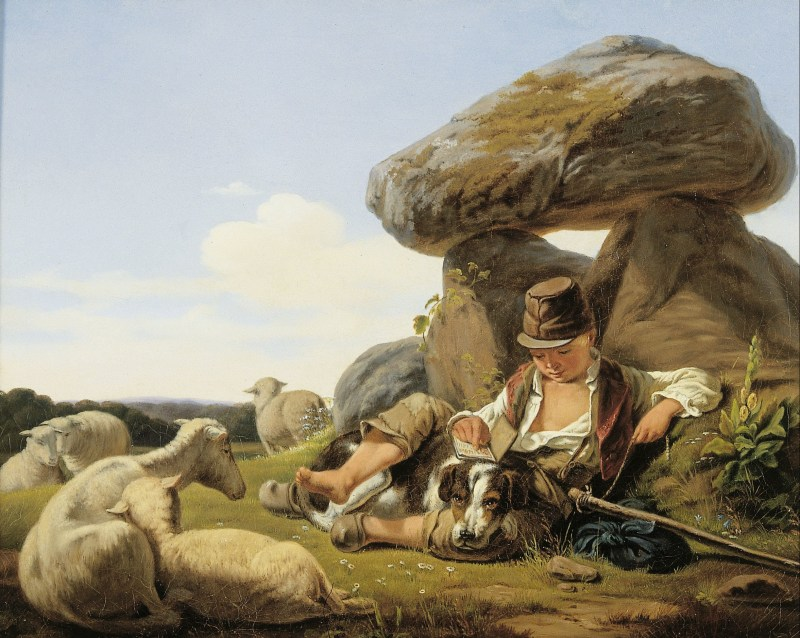 The Little Shepherd Boy, by Carlo Dalgas, c. 1840. National Museum of Denmark, Copenhagen, Denmark.