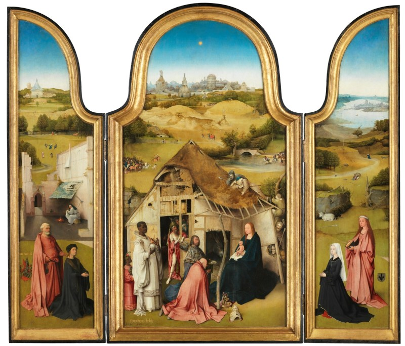 Adoration of the Magi, by Hieronymus Bosch, c. 1494. Museo del Prado, Madrid, Spain.