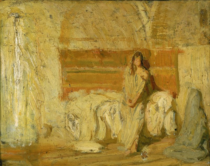 Study for the Annunciation, by Henry Ossawa Tanner, c. 1898. Smithsonian American Art Museum, Washington, D.C., United States.