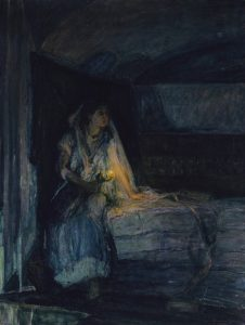 Mary, by Henry Ossawa Tanner, c. 1914. Smithsonian American Art Museum, Washington, D.C., United States.