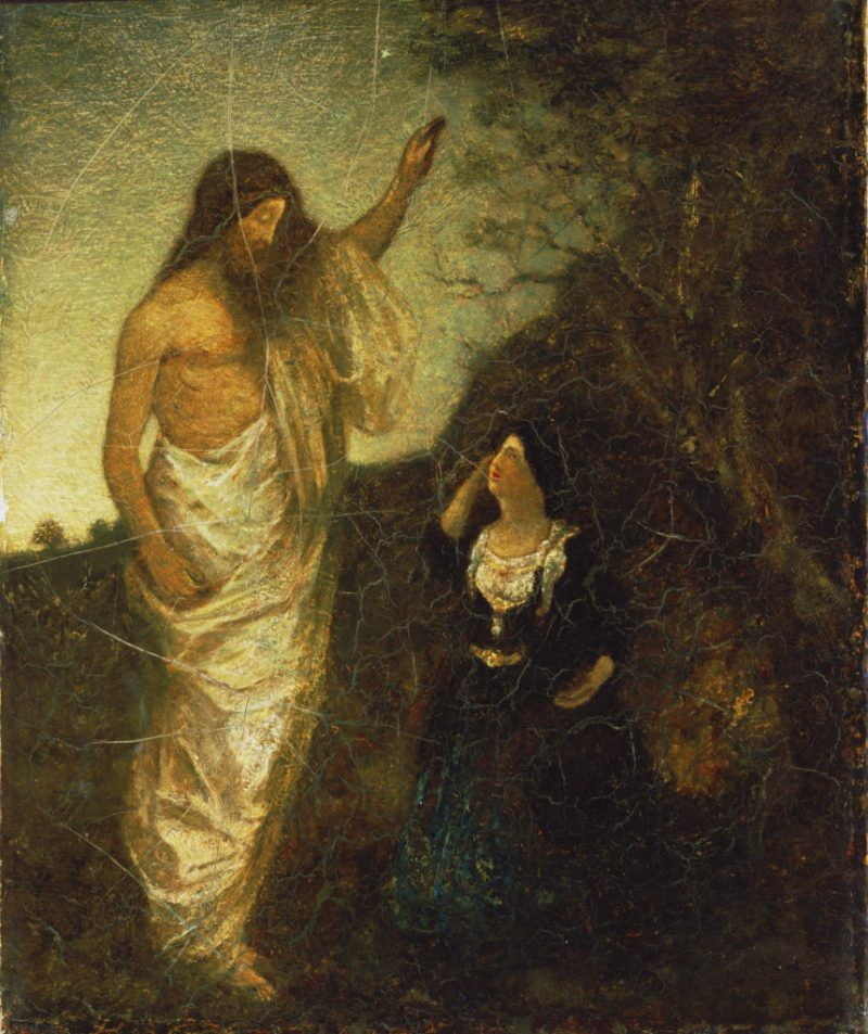 Resurrection, by Albert Pinkham Ryder, c. 1885. The Phillips Collection, Washington, D.C., United States.