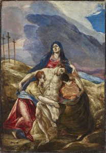 Lamentation, by El Greco, c. 1570s. Philadelphia Museum of Art, Philadelphia, Pennsylvania, United States.