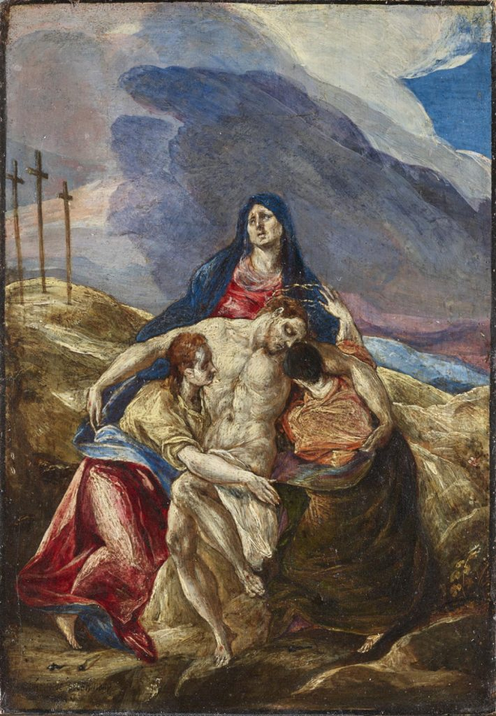 Lamentation, by El Greco, c.  1570s. Philadelphia Museum of Art, Philadelphia, Pennsylvania, United States.