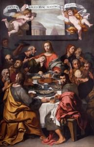The Last Supper, by Daniele Crespi, c. 1629-30. Pinacoteca di Brera, Milan, Italy.