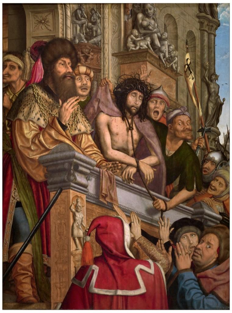 Ecce Homo, by Quentin Massys, c. 1518-20. Museo del Prado, Madrid, Spain.