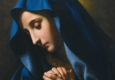 The Madonna at Prayer, by Carlo Dolci, c. 17th century. Private collection.
