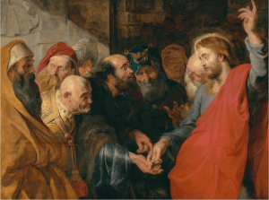 The Tribute Money, by Peter Paul Rubens, c. 1612-14. Legion of Honor Museum, San Francisco, California, United States.