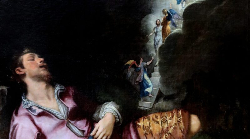 Dream of Jacob, by Lodovico Cigoli, c. 1593. Museum of Fine Arts, Nancy, France.