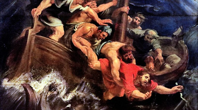 Jonah Thrown into the Sea, by Peter Paul Rubens, c. 17th century. Museum of Fine Arts, Nancy, France.