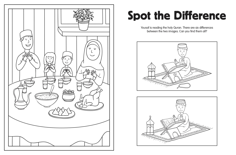 Happy Ramadan Colour And Activity Book