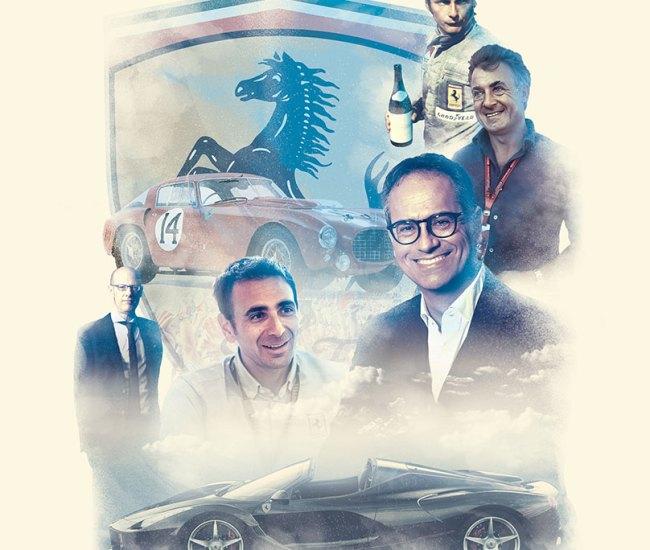 Car magazine - Ferrari at 70