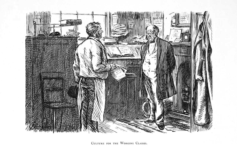 Charles-Keene-in-Punch