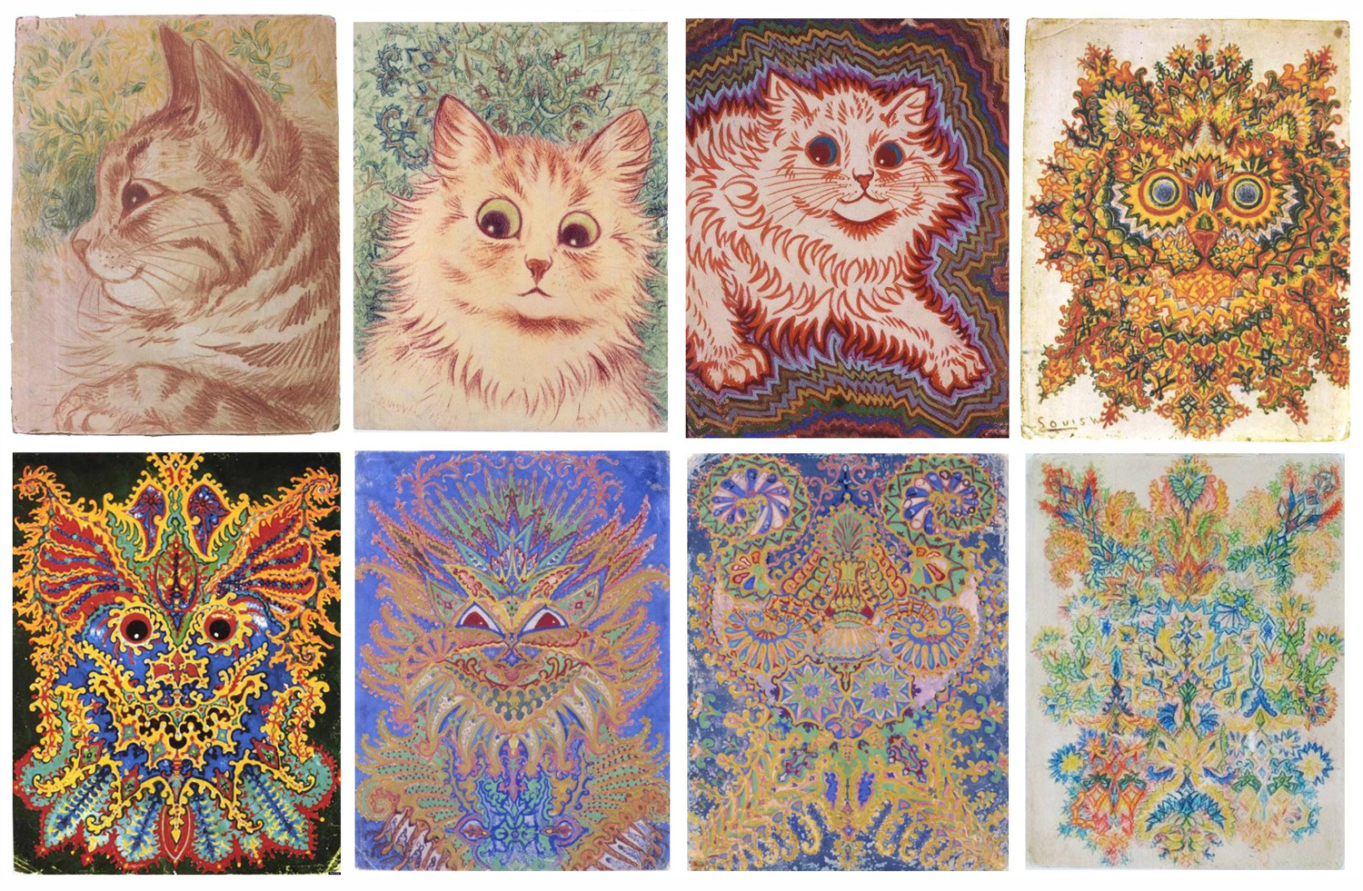 Cute Cats and Psychedelia: The Tragic Life of Louis Wain - Illustration  Chronicles