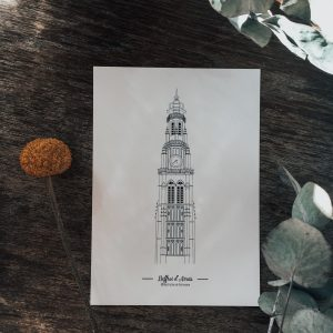 Illustration_de_patrimoine_boutique_en_ligne_illustration_beffroi_Arras