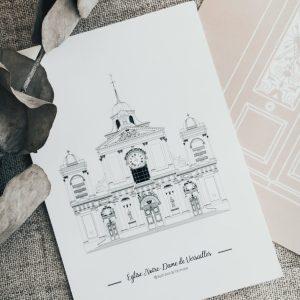 illustration-de-patrimoine-monument-francais-versailles-eglise-notre-dame