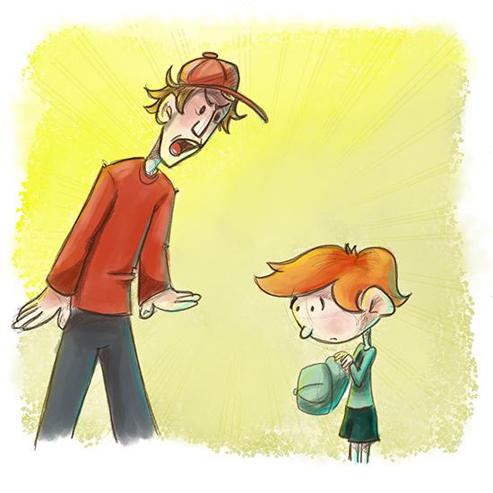 Pere en colêre