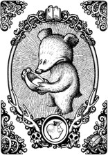 Baby bear - Fairy Tales Gloom