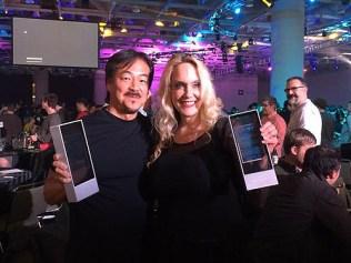 GDC Awards for Brenda Romero and Hironobu Sakaguchi