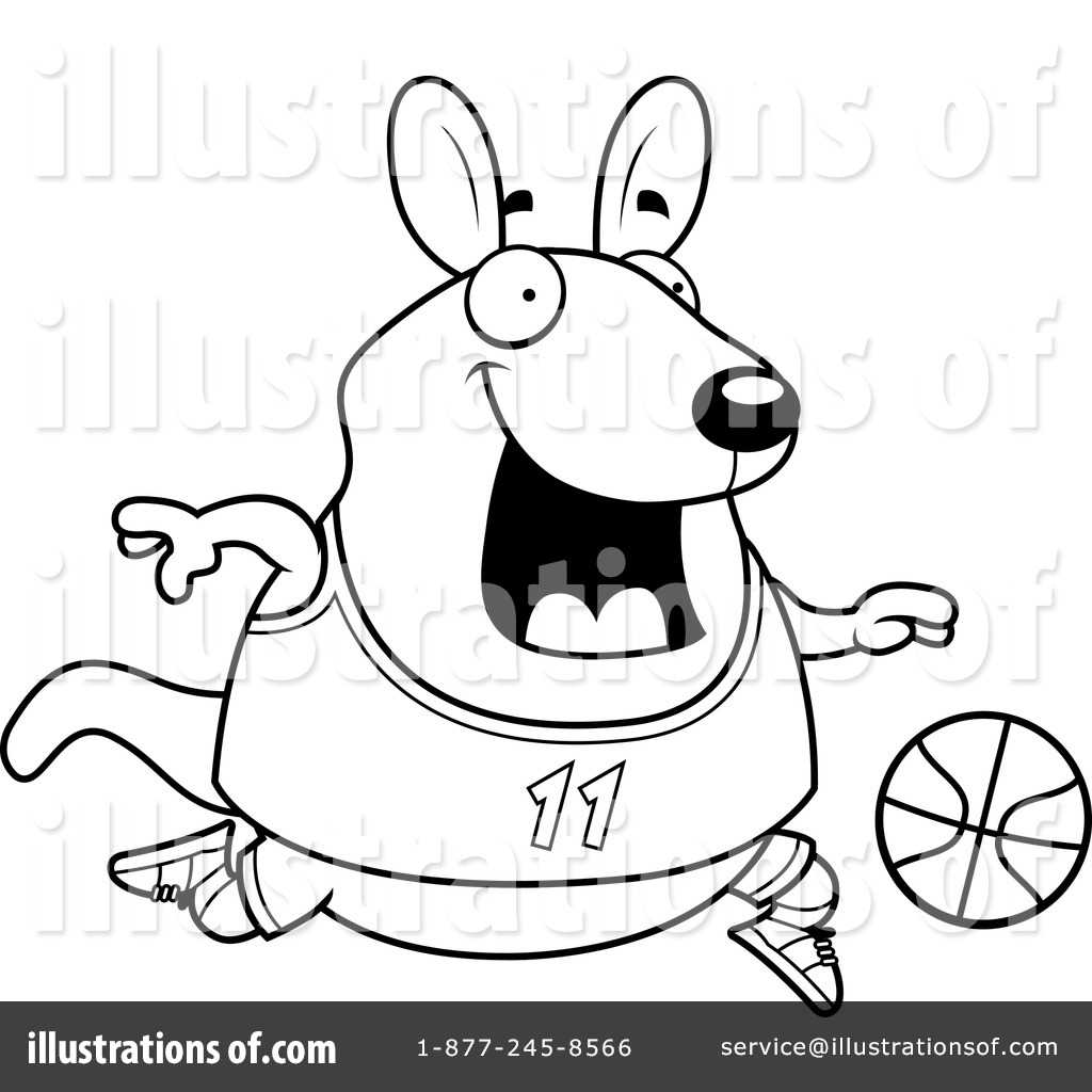 Wallaby Clipart