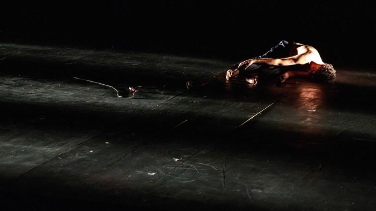"""""""Prométhée enchainé"""" mise en scène Vincent Bonillo - Cie Voix Publique - Grange de Dorigny - Lausanne - 3 mars 2019 Photo: Sébastien Monachon -"""