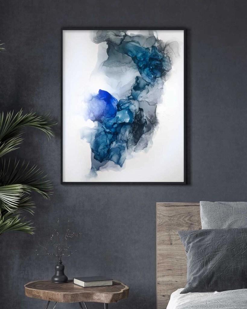 Illyra by Frankie Hsu - Drift ink painting