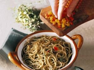spaghettini erbe mediterranee