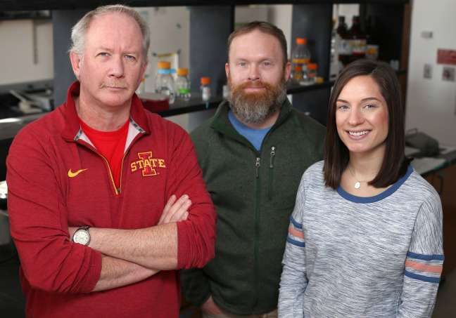 I ricercatori della  Iowa State Kevin Schalinske, Matthew Rowling e Samantha Jones stanno lavorando per migliorare la salute dei diabetici di tipo 2, stimolando livelli di vitamina D.