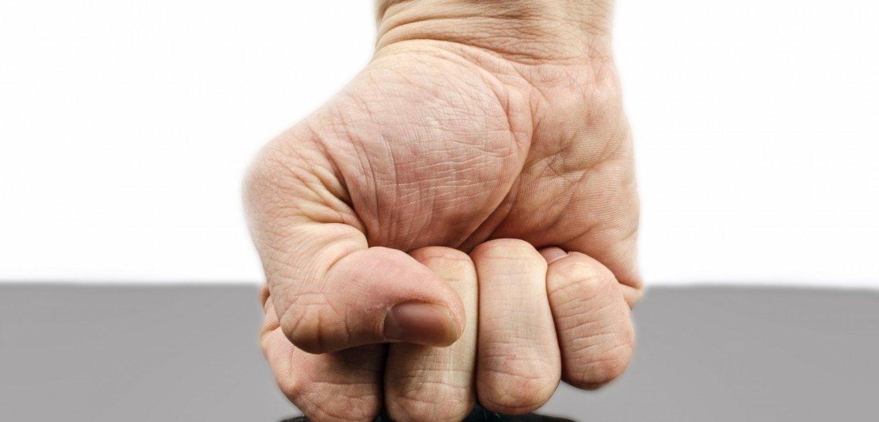 punch, fist, hand
