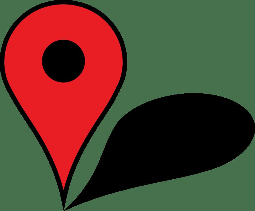 map, pin, illustrator