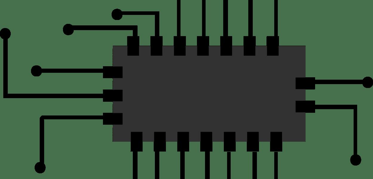chip, icon, micro