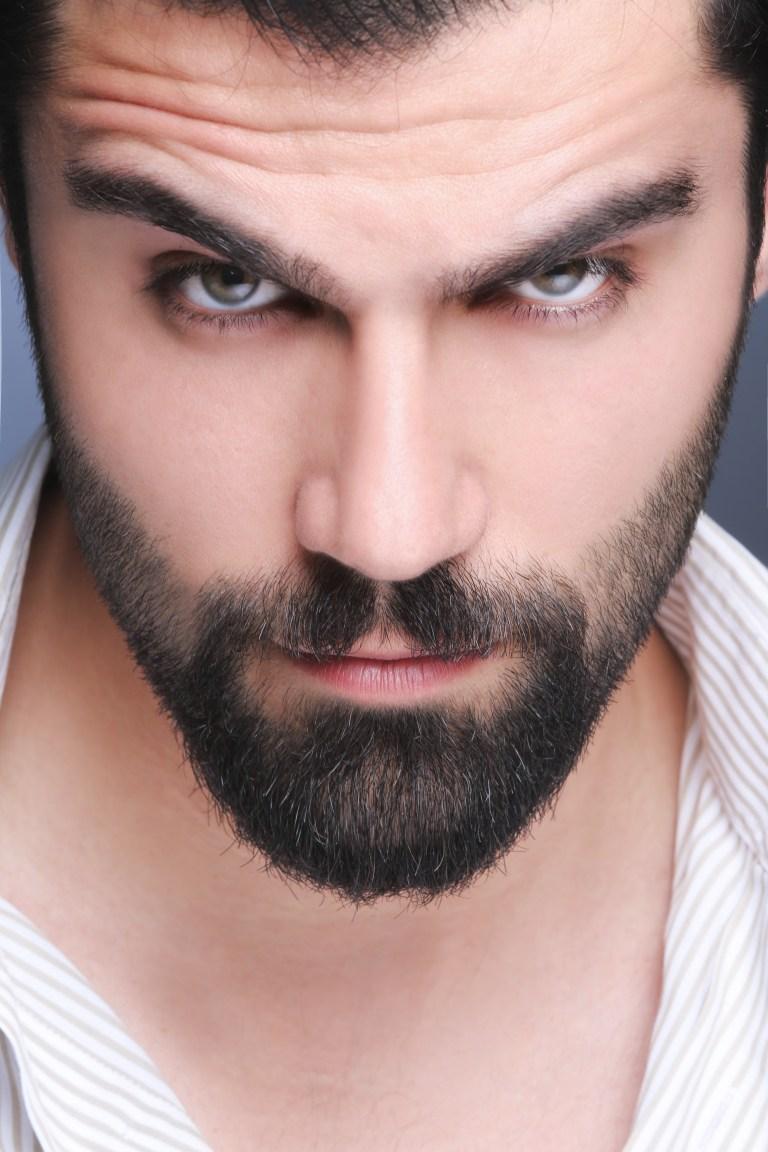 man, beard, portrait
