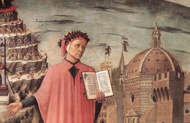 Domenico di Michelino's painting, Florence, 1465.
