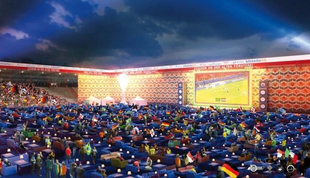 Dalla pagina Facebook di WM Wohnzimmer