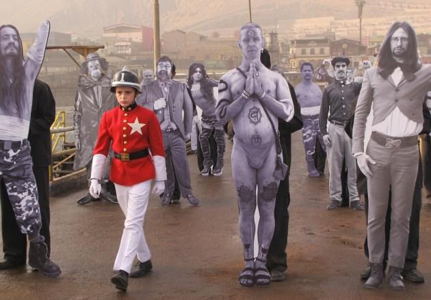 "Un frame di ""La Danza de la Realidad"" di Jodorowsky"