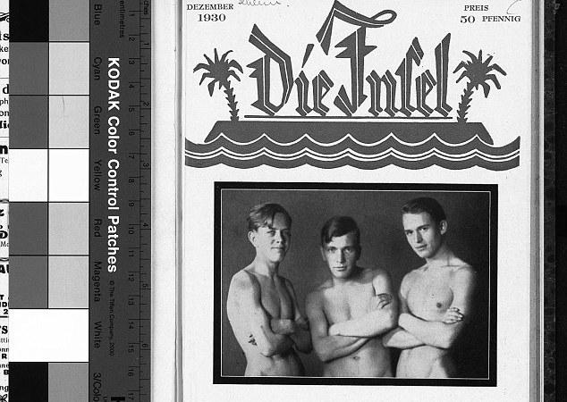 """La copertina del """"Die Intel"""" (dicembre 1930), un magazine per gay e lesbiche / © edito da Friedrich Radszuweit"""
