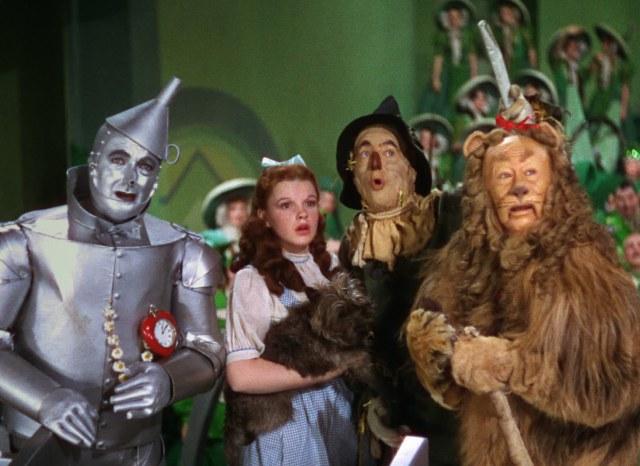 """""""The Wizard Of Oz"""" in Technicolor"""