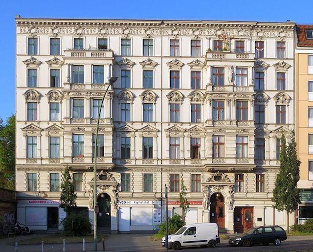 Il palazzo di Yorckstrasse 47-48, che ospitava il leggendario Risiko, ogg è patrimonio culturale | © Beek100 (Wikimedia Commons) / CC BY-SA 3.0