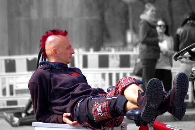 Berlin punks photo