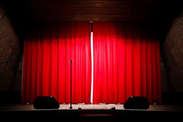microfono teatro photo