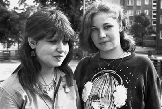 Ragazze dell'est a Lipsia, 1982
