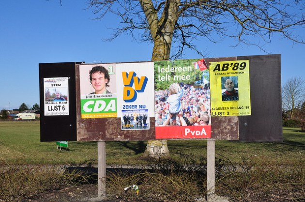 Nothing so temporal as election posters.