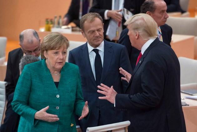g20 amburgo Merkel photo