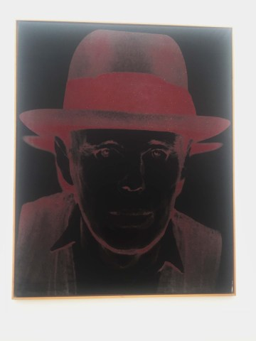 Joseph Beuys by andy warhol hamburger bahnhof