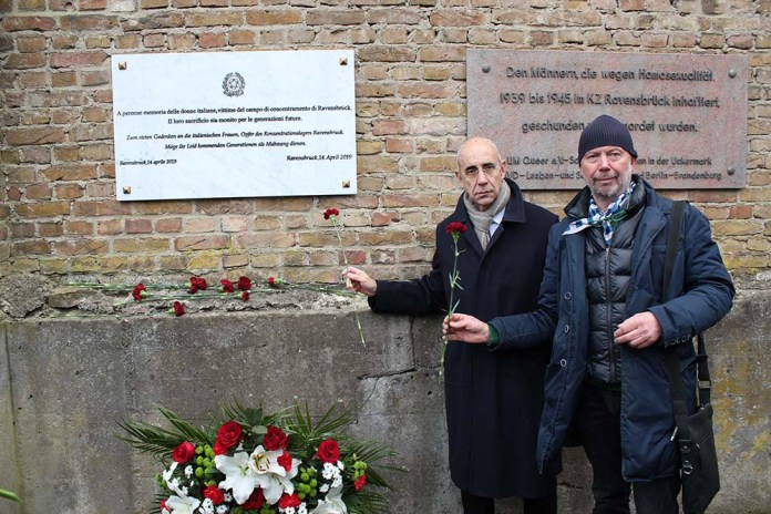 5 Comites Memoriale Ravensbrück Ambasciatore Rolfi