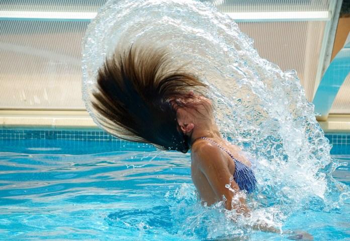 Schwimmbad photo