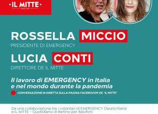 """""""EMERGENCY incontra Il Mitte"""", evento online: il supporto fornito nella gestione del Covid-19"""