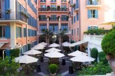 Hotel de Russie Courtyard